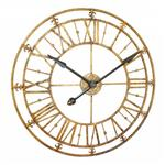 Horloge Murale Squelette Or Antique