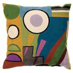 Coussin Monde Fait Main Kandinsky Abstract Zaida